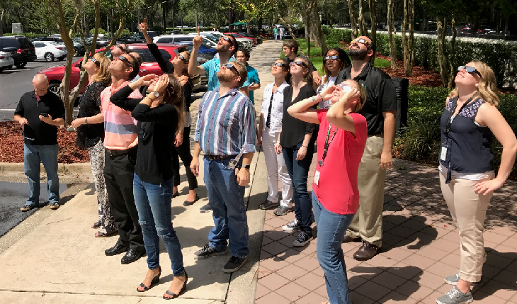 Design Interactive team viewing Eclispe
